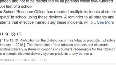 Photo of Be Aware of a New Smoking-Like Restriction
