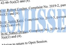 Photo of Ethics Commission Dismisses Complaints Without Investigation