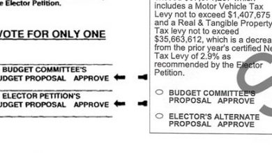 Photo of A Contrast in Ballots