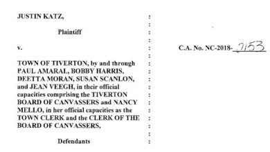 Photo of Background Documents from the TTA Lawsuits